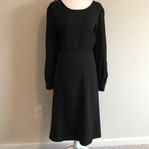 NWT Black Long Sleeve Cocktail Dress
